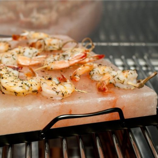 Free himalayan pink salt recipes green home now for Cooking fish on a salt block